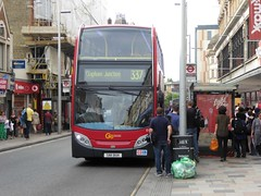 7 July 2016 Clapham Junction (6) (togetherthroughlife) Tags: 2016 july claphamjunction battersea bus sn11buh 337 e156