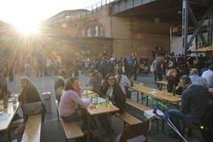 Prepublica: Ticket gegen Bändchen tauschen und danach Bier trinken