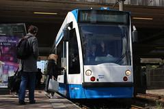 Lijn 17 -> Centraal Station (AMSfreak17) Tags: station amsterdam siemens gvb ov 2061 combino vervoer openbaar lelylaan amsfreak17