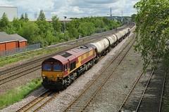 66044 @ Stourton, Leeds (TheRosyMole) Tags: yorkshire leeds railway dbs stourton ews 66044