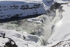 Gullfoss (JoshJackson84) Tags: snow ice waterfall iceland europe snowy icy gullfoss goldencircle canon60d sigma18250mm