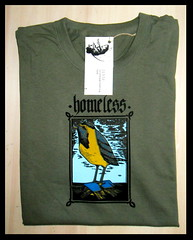 (serigrafia.zenor) Tags: verde bird handmade homeless tshirt screenprinting serigrafia zenor