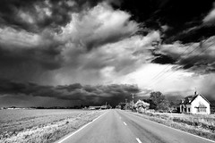 Angry fen storm. iPhone picture. (Martyn Fordham LRPS) Tags: