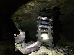 Giant's Jenga (adventurekyles) Tags: california abandoned wrightwood dark lost gold big scary cabin mine exploring vincent deep adventure equipment forgotten mines bighorn horn tunnels exploration miner kyles vincents miningequipment goldmine abandonedmine bighornmine wrightwoodcalifornia abandonedgoldmine adventurekyles minervincentscabin minervincent vincentscabin