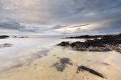 Rocky Shoreline (Eimhear Collins) Tags: seascapes harbour dusk countydublin skerries