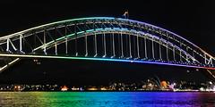 Vivid 2015 Harbour Bridge 0015 (BrianRope) Tags: sydney australia nsw