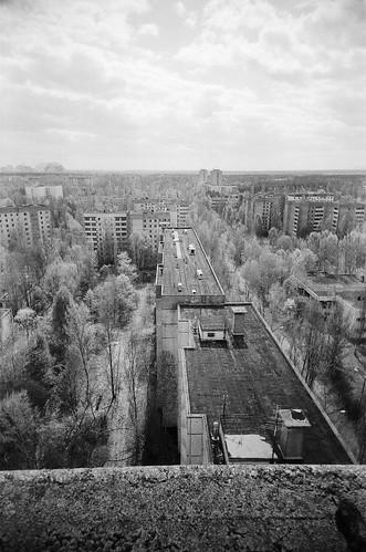 Pripyat - 16 Storey View
