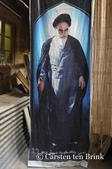 Shiraz's Bazar: a thoughtful Ayatollah? (10b travelling) Tags: persian asia asien iran middleeast persia shiraz asie iranian bazaar bazar 2014 ayatollah neareast khomeini moyenorient naherosten mittlererosten tenbrink carstentenbrink westernasia iptcbasic 10btravelling