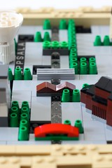 Uppsala Maze (aukbricks) Tags: city bridge river lego sweden uppsala maze ideas fyrisriver