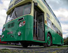 How much lower can I get? (Lazenby43) Tags: bus liverpool 1972 pierhead merseyside trabsport bkc236k