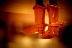 To Boot (Kenny Dong) Tags: lighting light canon toy toys boot cowboy boots toystory bokeh woody indoor disney pixar artisitc