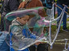 bubble (stevefge (away travelling)) Tags: people boys netherlands kids nijmegen children nederland bubbles goffertpark koningsdag kingsday nederlandvandaag reflectyourworld