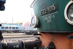 PKP, ET22-1015 (Chris GBNL) Tags: train pozna pkp pociag polskiekolejepastwowe et22 pkpcargo et221015 eu46 193503 siemensvectron eu46503