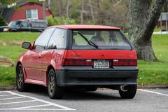 1991 Suzuki Swift GT (Rivitography) Tags: red newyork car canon japanese rebel automobile adobe vehicle swift 1991 suzuki t3 tuner gt hatchback lightroom 2016 crossriver rivitography cfh7928
