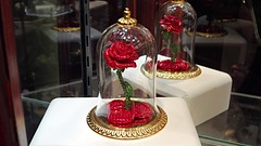 Magical Rose by Arribas Brothers (BeautifulToyReviews) Tags: street beauty rose shop store princess crystal brothers disneyland main arts parks disney gift beast swarovski collectible magical arribas