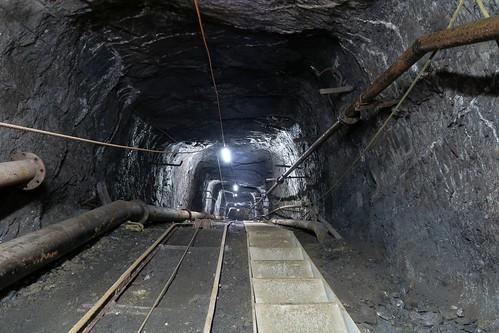 Gonzen Mine - Military Path