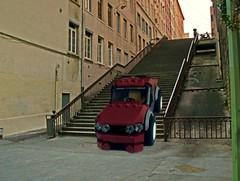 4X4 (Daniel V 75) Tags: wallpaper art car sport speed star photo lego 4x4 ferrari voiture creation porsche wars paysage tuning base luxe berline moc