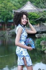 DP1U4530 (c0466art) Tags: park old light sea portrait building green pool girl beautiful creek canon garden costume nice interesting eyes scenery pretty skin outdoor gorgeous chinese large style double lips figure caribbean tall lovely charming tranditional 1dx c0466art
