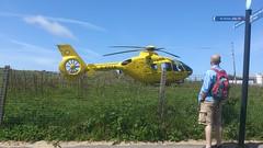 G-NWAA (divnic) Tags: sea england beach pier lancashire helicopter bond blackpool copter eurocopter ec135 irishsea eurocopterec135 fylde airambulance northernengland emergencymedicalservice northwestengland helicopteremergencymedicalservice nwaa northwestairambulance bondairservices gnwaa helimed08