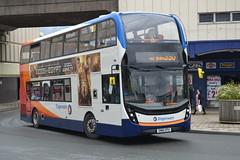 Stagecoach AD E40D 10579 SN16OTU - Stockport (dwb transport photos) Tags: bus stockport alexander dennis stagecoach decker 10579 400mmc sn16otu
