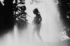 Summer fun (privizzinis passion photography) Tags: lighting light summer people blackandwhite sun water monochrome sunshine childhood kids children fun outside outdoors child play outdoor joy surreal sprinkler