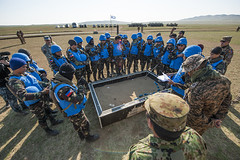 Multinational Forces Plan a Convoy Escort Simulation During Exercise Khaan Quest (#PACOM) Tags: engineering mongolia eod peacekeeping mn humanitarian peacekeepers engineers ied kq16 pacom hadr unpeacekeeping unmas elbegdorj marforpac usaidasia pacificresilience uspacificcommand pacom kq2016 statedeptpm unmongolia usembmongolia khaanquest2016