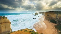twelve apostles (chocoorange) Tags: ocean road beach rocks great wave australia victoria cliffs twelve apostles