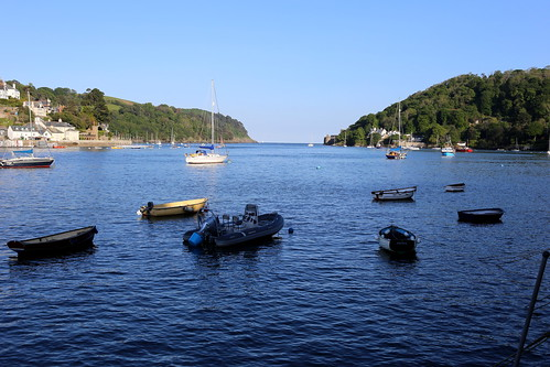 Dartmouth Harbour entrance - from Baynard's Cove