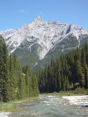 Rundle (djking) Tags: mountain canada alberta banff rundle sprayriver goatcreek