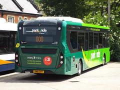 SN16 OOY (26046) (brendan315) Tags: park new bus green ride 200 pr 16 winchester brand mmc reg stagecoach parkandride enviro enviro200mmc e200mmc 16reg