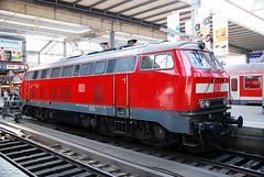 218.433 (Tams Tokai) Tags: eisenbahn zug db bahn vonat vast