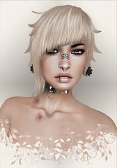 Ayashi-Nekajima ([] Nieor Svir []) Tags: woman meshbodylara style lotd poetic maitreya fashion hair blogging sl secondlife logo meshhead alterego hairfair16 ayashi