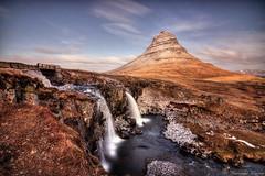 Kirkjufell Iceland (Geinis) Tags: iceland sland kirkjufell kirkjufellsfoss mountain canon canon70d river travel