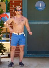 IMG_5607 (danimaniacs) Tags: park shirtless man hot sexy guy beard hunk westhollywood scruff mansolo