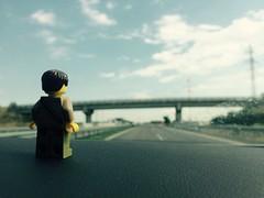 Traveling again... (kelko585) Tags: minifigure minifig traveling lego afol