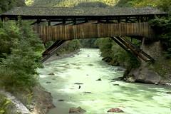Ponte di legno (Douglas M.P.) Tags: altoadige montagna mountain ponte legno wood fiume acqua water scorre sassi rocce rock natura natur italy