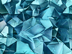 bluish (albyn.davis) Tags: abstract color blue shapes cubes geometry