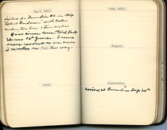 Diary of Robert Wallace p.07 (Community Archives of Belleville & Hastings County) Tags: 1880s 1890s 1900s 1910s 1920s diaries homechildren