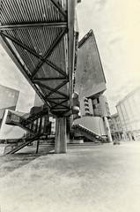 way to sky (Giampiero Ridella) Tags: genova genoa corte lambruschini bw monocrome structure construction
