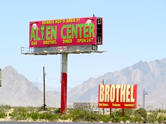 We are in the Wild West Now (morroelsie) Tags: signs roadsigns funnysigns nevadasign nevada nevadadesert morroelsie