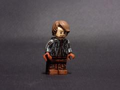 "Theon ""Reek"" Greyjoy (billbobful) Tags: lego game thrones ramsay bolton reek snow theon greyjoy grey joy roose got song ice fire"