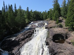 Cross River Falls (Schroeder, Minnesota) (courthouselover) Tags: minnesota mn landscapes cookcounty schroeder superiornationalforest nationalforests waterfalls crossriver