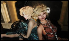 Flapper series (trilbym) Tags: breathe 1920s alafolie artdeco brainbot fashion flapper hangingthemoon maryofthemoors s0ng secondlife secondlifefashion tvc twenties vanityhair