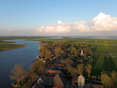 Holysloot Waterland (2) (de kist) Tags: netherlands die aerial waterland holysloot holysloter