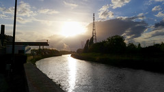 Sunset on the Dyle (MrBlackSun +5 Million Views, thank youMillion) Tags: belgium belgië mechelen malines dyle dijle nikond600 mechlin