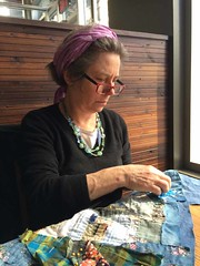 Montreal (dee at clothcompany) Tags: house quilt sewing applique handstitching