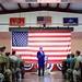 Secretary Kerry Addresses a Cross-Service Corps of U.S. Service Members Stationed at Camp Lemonnier