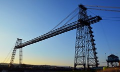 Newport Transporter Bridge (Charles Dawson) Tags: bridge newport newporttransporterbridge