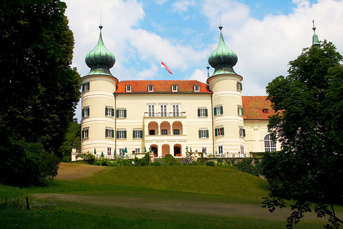 Arstetten. Schloss. Südseite