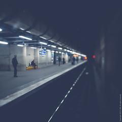 Alone together (izsofast) Tags: urban paris colors train nikon fineart transport rail system transportation regional rer rerb